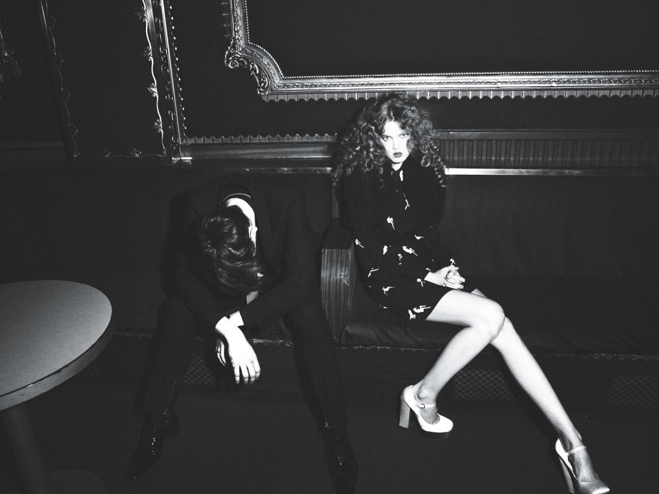 Out and about. Photograph by Mert Alas and Marcus Piggott; styled by Alex White; W magazine March 2010.