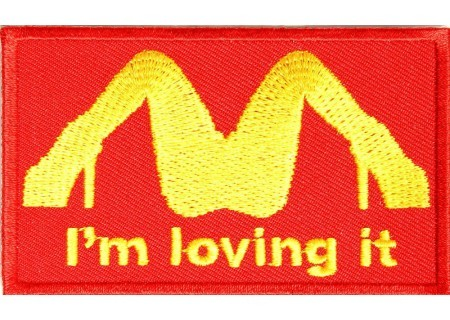 biker-patches:  I'm loving it patch