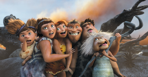 Think your family is awkward? Meet the Croods!