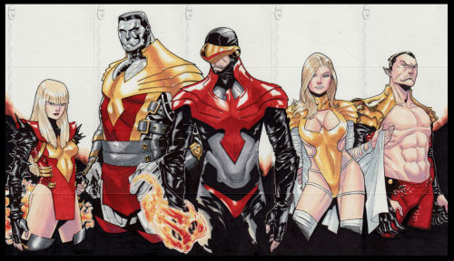 astonishingx:  Phoenix Five by Jose Johann Jaro