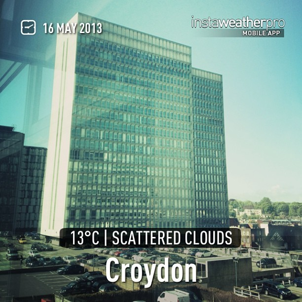 Swapping the glamour of Cannes for Croydon today. #KeepItReal (at Croydon)