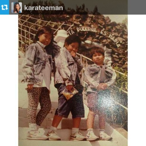 #Repost from @karateeman : Lots of things going on here like Fat Raf and Fat Kara & denim on denim crime #tbt (at Baguio City)