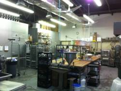 COMMERCIAL KITCHEN FOR RENT  We rent out our licensed and inspected commercial kitchen to ANY/ALL FOOD COMPANIES – FOOD MANUFACTURERS - FOOD ENTREPRENEURS – CHEFS – CATERERS - FOODIES etc. Please call us at 516.333.4133 if you are looking for space to manufacture your food products! • Convenient Location  (off the Northern State Parkway at Post Avenue) • 2,000 Square Feet of Commercial Kitchen Space • 20 Quart Mixer • 140 Quart Mixer • 24 Tray Revolving Oven • 6 Burner Gas Stove Top • Candy Stove • Reversible Dough Sheeter • 32 Feet of Maple-top Bench Space • Walk-In Freezer • Walk-In Refrigerator This space is the perfect venue for any commercial food production company.  Rental fee will be charged at an hourly rate. Prospective renter must be incorporated and carry their own business insurance.