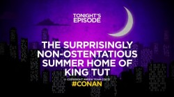 thetitlesofconan: The Surprisingly Non-Ostentatious Summer Home of King Tut.