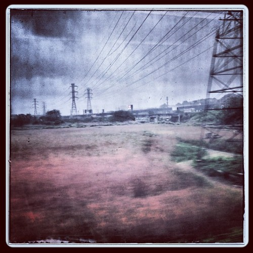Good morning, Garden State… (at New Jersey Transit Train 6915)