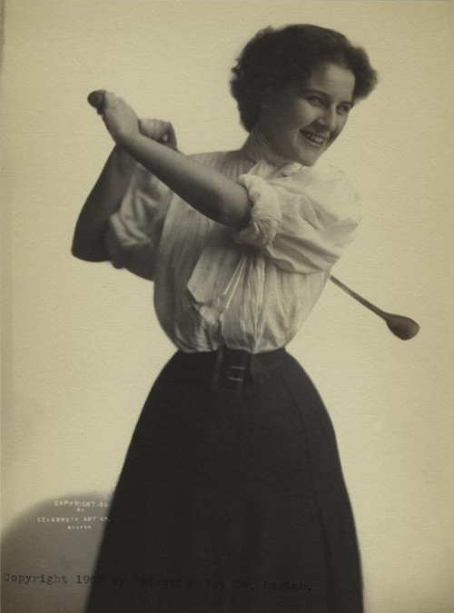 vintagesportspictures:  Golf Player (1907)  1907