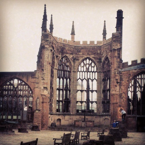 My city of ruins #Springsteen  (at Coventry Cathedral)