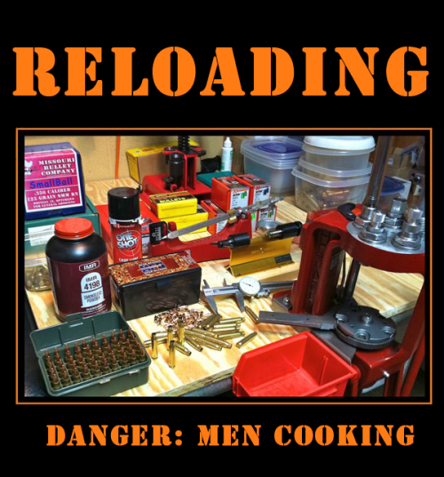 With ammo in short supply, it's a great time to start reloading. If you can find the powder #FirstWorldReloaderProblems