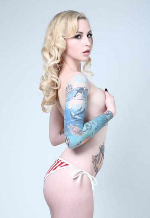 ohmygodbeautifulbitches:  Jesse Danger  This sleeve is gorgeous!