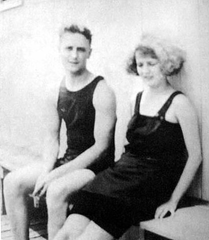 F Scott and Zelda Fitzgerald [X]