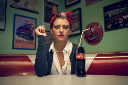 Kenzie - 1950s by www.trentonmichael.com on Flickr.