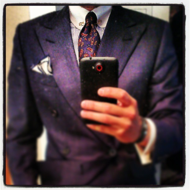Proper attire for saying goodbye. #instafashion #menswearhouse #menswear #style #Wiwt