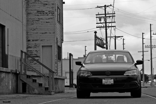 VW Jetta. I like black and white if you can't already tell.