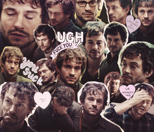 breadsandbraids:   Will Graham is 3000% done