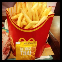 #CitrusThai #ShakerFries #mcd