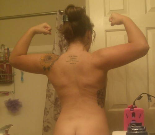 I don't really pay attention to my back so what do you think?.. Let me know please :)