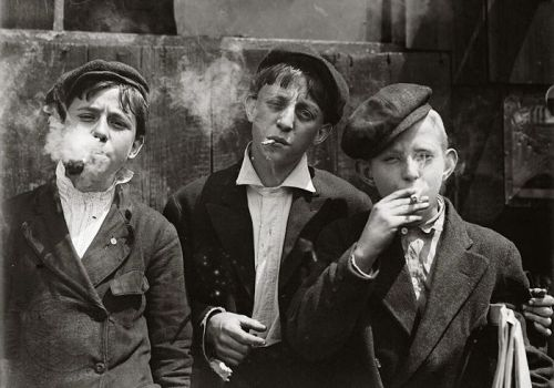 Lewis Wickes Hine was an American sociologist and photographer. Hine used his camera as a tool for social reform. His photographs were instrumental in changing the child labor laws in the United States.