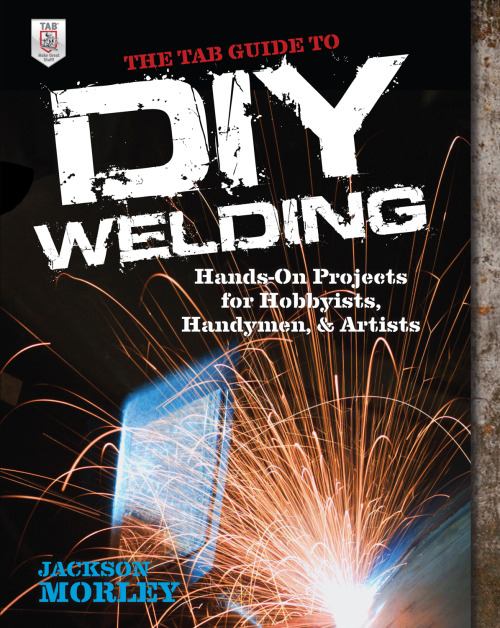 Check out the latest release from TAB Books! The TAB Guide to DIY Welding is a self-teaching guide for hobbyists, handymen, and artists. It show you how to get started with metal-inert gas (MIG) welding (the easiest to learn) and metalworking. In addition to teaching you how to use the MIG welder, the book provides illustrated instructions on being safe, setting up a workspace, selecting and sourcing steel, properly using the right tools, and getting acquainted with the oxy-acetylene torch and plasma cutter. You also get step-by-step walkthroughs for several projects, including making a barbeque grill, a table, a garden cart, fireplace log holders, and more. Maybe you thought welding and metalwork were beyond your abilities, but author Jackson Morley makes it all simple and clear! Jackson studied industrial design at the University of Kansas and currently teaches sheet metal forming, bicycle maintenance, and MIG welding courses at the Steel Yard in Providence, Rhode Island.