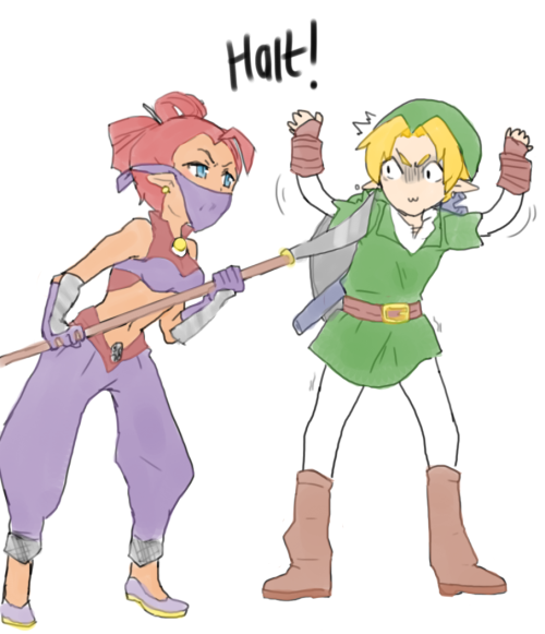 sluttymcdorkwhore:  so ive been playing oot lately  It's okay, Link; just don't give them your hookshot and everything will be fine. (by sluttymcdorkwhore)