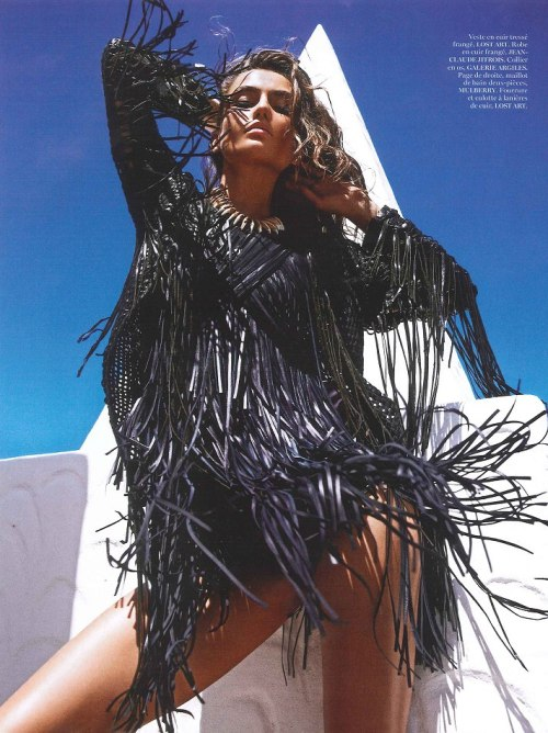 timeless-couture:  Sauvage Andreea Diaconu photographed by Mario Sorrenti for Vogue Paris June/July 2013