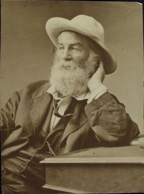 This week's Mustache Monday goes to Poet Walt Whitman, courtesy of this fantastic photo from NYPL's Berg Collection. Happy Mustache Monday! Don't forget to celebrate National Poetry Month by stopping by a NYPL branch and reading poetry by the likes of Whitman, Longfellow and Shakespeare!