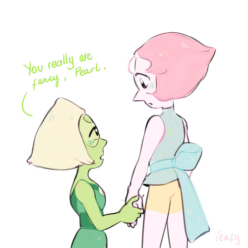 hey why not! i try to convince myself as I descend ieafy draws doodles pearlidot pearl peridot