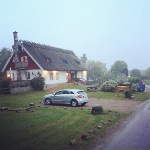 When the city is full, find shelter in the country.  (at Kvinnaböske Krog)