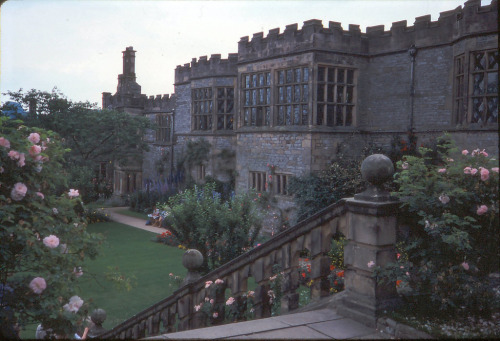wanderthewood:  Haddon Hall, Derbyshire, England by Bobrad
