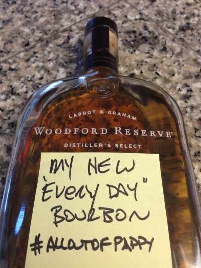 somnambulist:  Photo via Alton Brown. i think i'd rather take the PAPPY…  Alton Brown = Southern gentleman