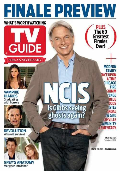 fuckyeahtmarkharmon:  charmingharmon:  New TV Guide Magazine with Mark on cover! May 6-19, 2013 It's a double issue for TV Guide's 60th Anniversary.  Always good to see Mark on cover of a magazine :)