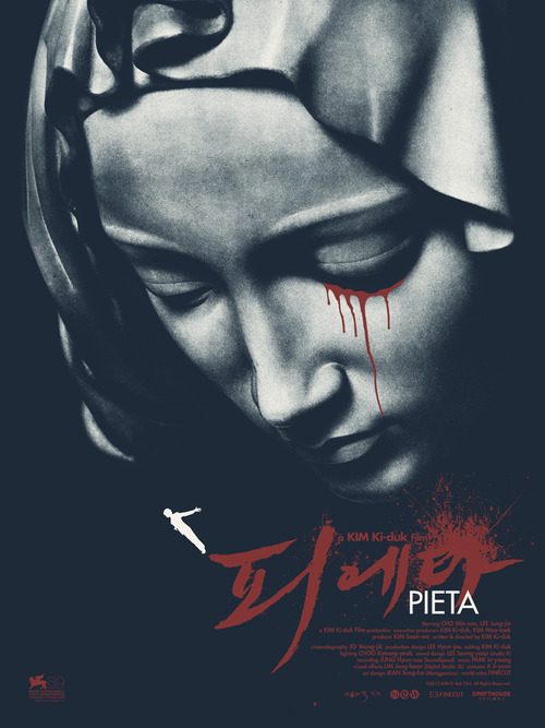 PIETÁ, the acclaimed film from the celebrated Korean director Kim Ki-Duk has its Chicago Premiere tonight at Facets Cinémathèque at 7pm. Be there!