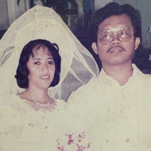 25 years today :) Pinaka-imba na love team ever!!!! HAHA :') I LOVE YOU BOTH. #anniversary #25th #love throughtheyears