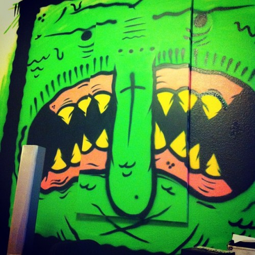 Whata creep #art #painting #graff #graffiti #character #theminisquad