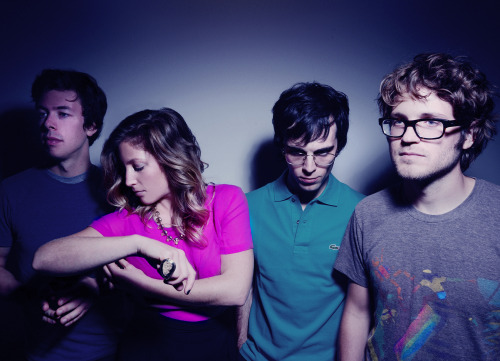 "rarariot:   Is It Too Much, another new track of ours, was just premiered on an episode of NPR's All Songs Considered, take a listen! We <3 NPR   I have a strange and sentimental relationship with Ra Ra Riot. To explain why, I ask you to step back in time with me, about four years. In April of 2009, I was about to graduate high school. I decided to attend Syracuse University, but I wasn't that enthusiastic about my choice. I felt pressured to go there by my parents, because my aunt lives in Syracuse, and by my bank account, because they offered me a lot of money in scholarships and grants. Every day I was questioning what I wanted to study, and what I wanted to pursue for the rest of my life. I chose to major in Acting, not because I loved performing, but because I spent so much time working for my high school's drama department that it seemed foolish to give it up. When I visited the campus, I wasn't particularly impressed, but it seemed a better alternative to the University of Illinois, otherwise known as ""Niles North Grad School."" So in April of 2009, I was not in a good place. In that same month, I spent some well-earned (read: birthday) money on tickets to see Death Cab for Cutie with Ra Ra Riot and Cold War Kids. I liked-not-loved Cold War Kids, but I'd only peripherally heard of Ra Ra Riot. I listened to a few of their songs before the show, and I found warmth and familiarity in Wes Miles' voice, even though I was only listening for the first time. After an amazing opening set, Wes said farewell to the audience with a grateful ""We're Ra Ra Riot, and we're from Syracuse, New York. Thanks for listening and have a great night!"" It was there, at the Aragon Ballroom, surrounded by Chicago's hipster finest, that I felt not necessarily confident, but more secure with my decisions about my ""future."" I listened to The Rhumb Line a lot my freshman year. I was homesick, unhappy, and desperate. Ra Ra Riot represented to me the intersection between what I loved about my home and the few things I liked in Syracuse. When I started going to house shows my sophomore year, I wondered what it would have been like to attend SU in 2005, and see Ra Ra Riot in some basement on Clarendon. When I attended their SU-sponsored concert in our music school's auditorium three and a half years later, I felt that same warmth and familiarity. Wes and Rebecca and company joked and bantered with the audience about their time as students, and I happily realized that I was no longer relying on their music as a security blanket. They turned a dismal winter in 2005 into a song (""Winter 05""), much like how I got tired of being so sad and lonely my first two years at school, and went out to find some friends and join some activities. I'm excited for their new album because it'll be a fitting bookend for my time in Syracuse. I graduate this year, and I can't wait to get the hell out, but I'll always have Ra Ra Riot to remind me of what SU became once I made it my own."