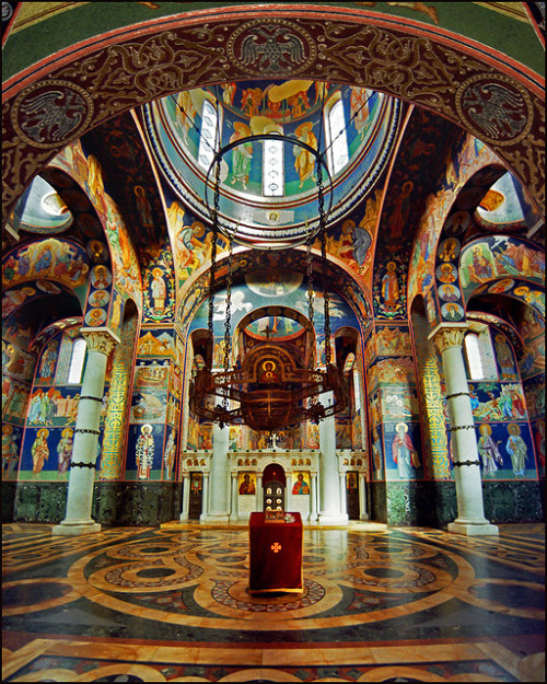 visitheworld:  The church of St. George in Topola, Serbia (by Katarina 2353).