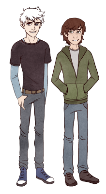 My art ag httyd hijack Modern AU bleargh thatendyperson yeah it's how i picture them in ag