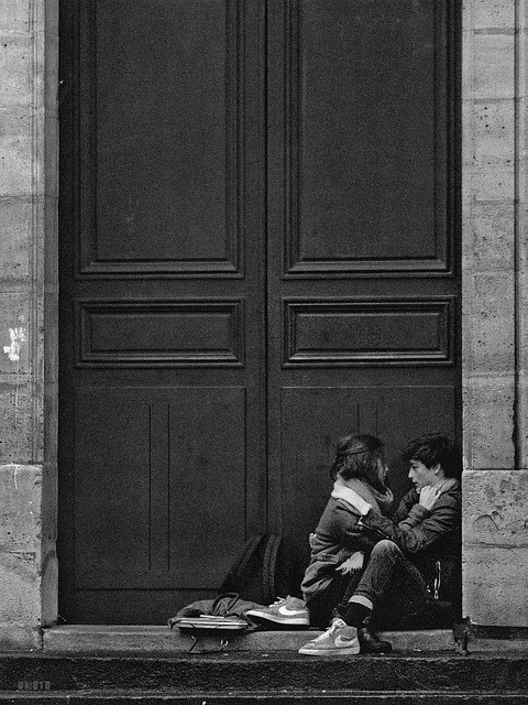 Porte de l'église St-Etienne du mont by Orioto on Flickr.Young love