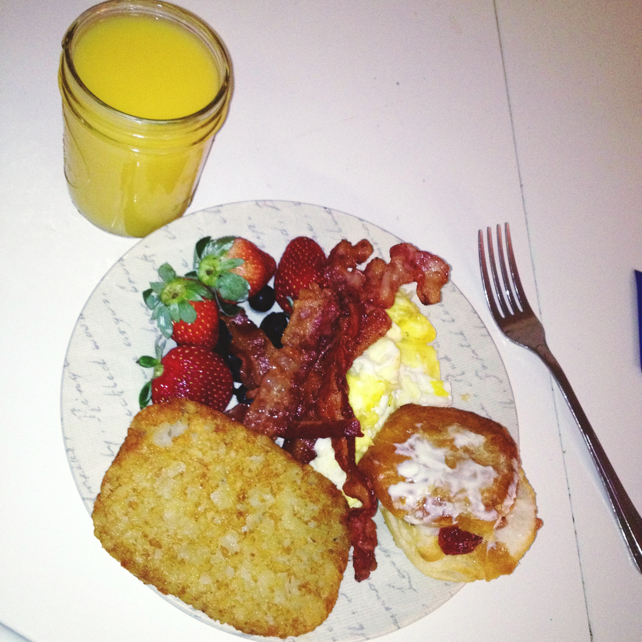 Breakfast for dinner Photo and food by Rubsta