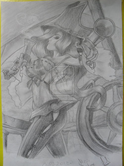 dwaixryz:  MissFortune. by ~8melancholy-girl8