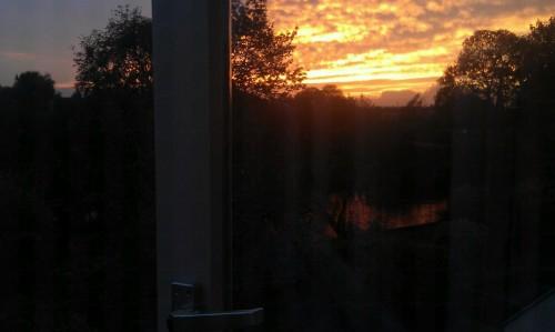 mine sky sunset photography flowure