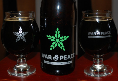 Fulton War & Peace with #properglassware  This beer is pretty amazing if I do say so myself.  GLASSWHALES!