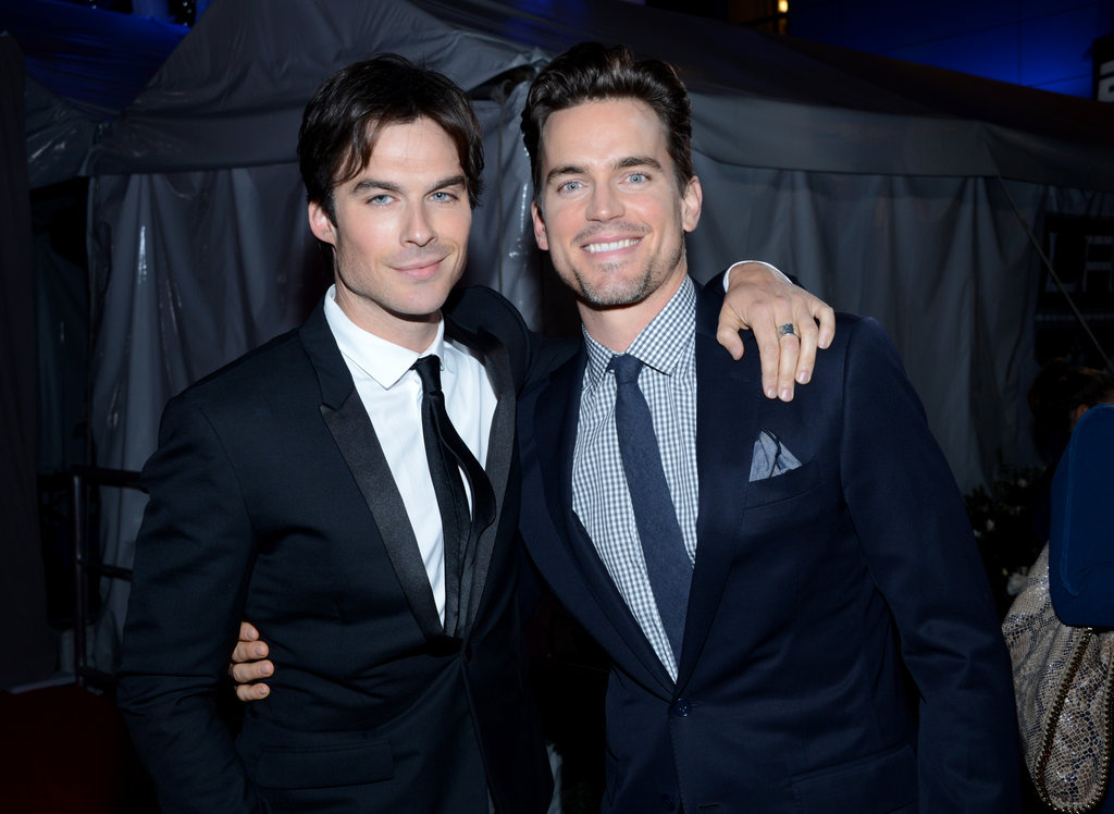 celebdiary:  Ian Somerhalder & Matt Bomer @ 2013 People's Choice Awards > http://celeb-diary.blogspot.ro/2013/01/ian-somerhalder-matt-bomer-2013-peoples.html#