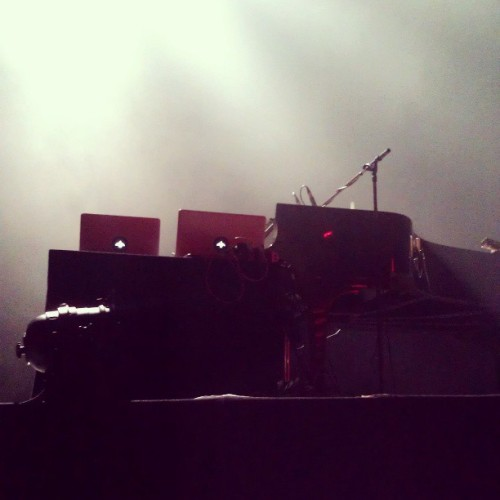 Seeing Óli tonight with @katieklagt ! Front row~ (at Muffathalle)