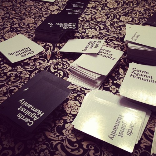 Thursday night. #cardsagainsthumanity