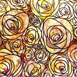 #DIRTY #ROSES #Watercolor & #Sharpie on #Moleskin