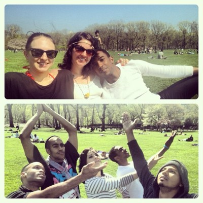 Mystic India does Central Park. @raphaelniba @bbose77 @rwebberjr #nyc #centralpark #becomingbollywood  (at Central Park - Sheep Meadow)