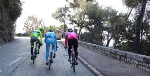 for all you fluoro-euro lovers. A monday ride to Italy. And just to make it more italian, i enjoyed the company of Pippo Pozzato, Oscar Gatto and Valerio Agnoli too