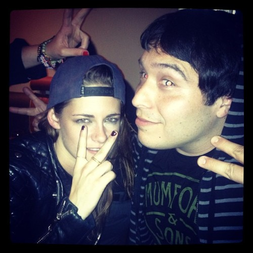 New FanPic of Kristen in LA Last Night - May 8 Steve just doesn't know how to leave people alone.View Post