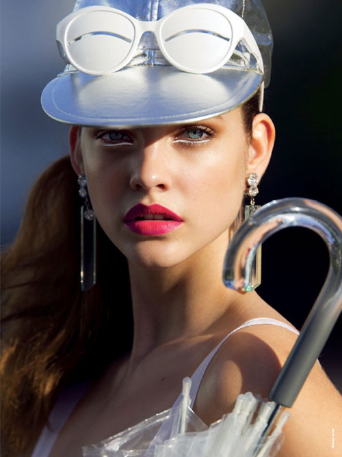 suicideblonde:  Barbara Palvin photographed by Hans Feurer for Antidote Magazine, Spring/Summer 2013
