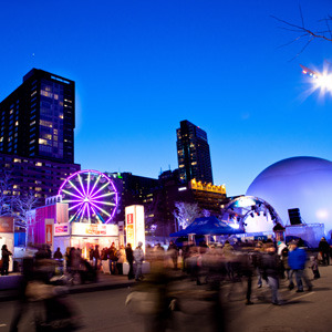 Igloofest, a January electronic music festival in Montreal - from my latest piece on ReadersDigest.ca (via Canada's 10 Coolest Winter Festivals | Reader's Digest)